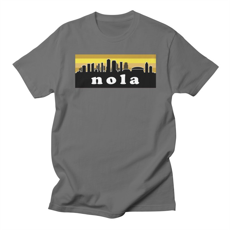 NoLa Men's Regular T-Shirt by Mike Hampton's T-Shirt Shop