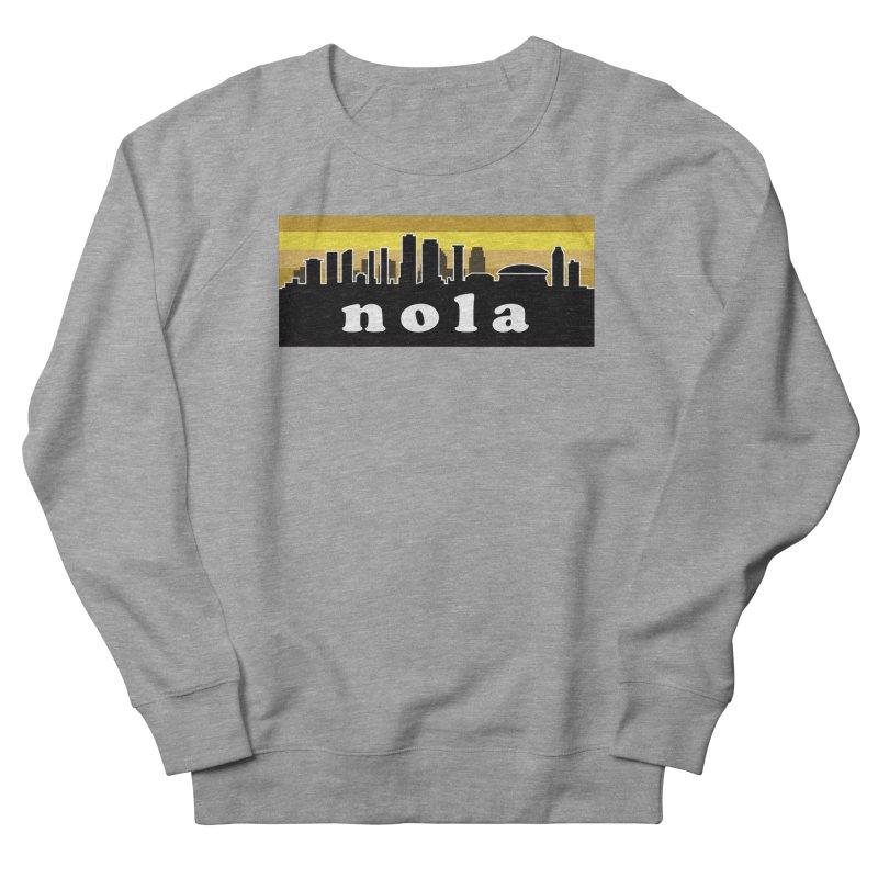 NoLa Men's French Terry Sweatshirt by Mike Hampton's T-Shirt Shop