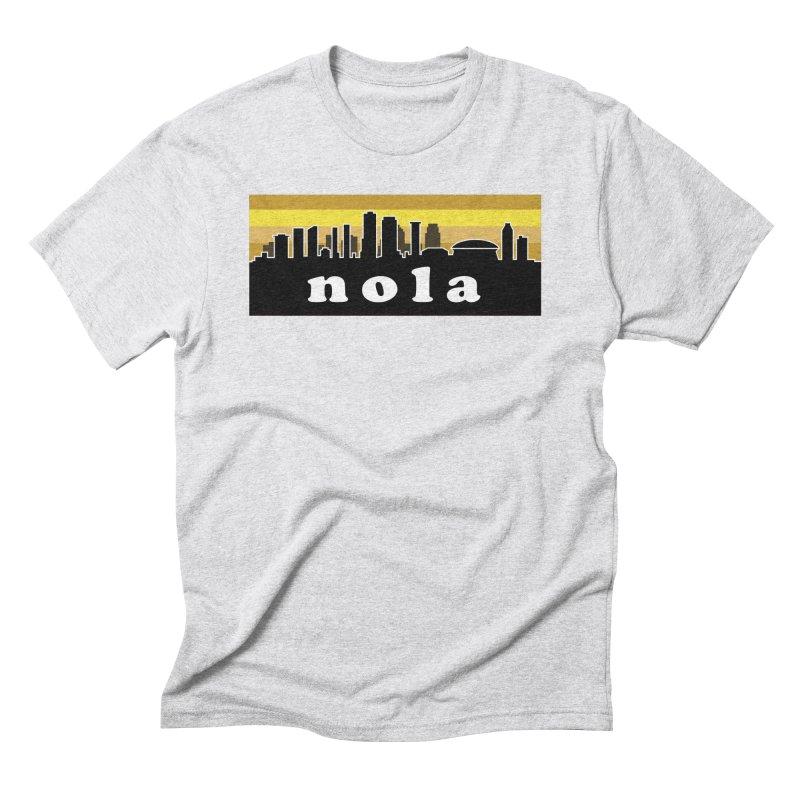 NoLa Men's Triblend T-Shirt by Mike Hampton's T-Shirt Shop