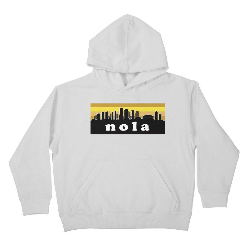 NoLa Kids Pullover Hoody by Mike Hampton's T-Shirt Shop