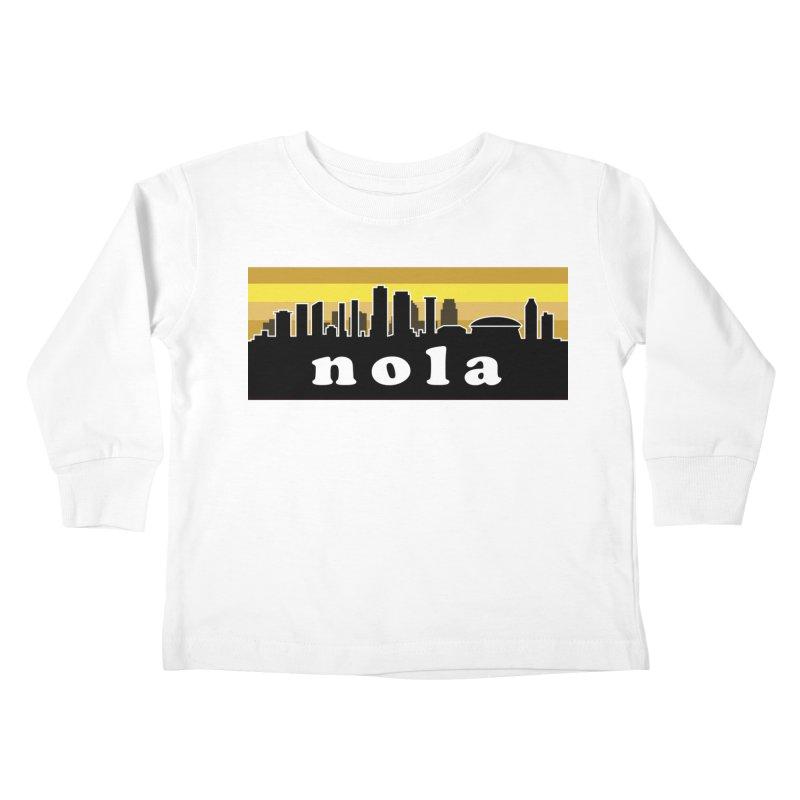 NoLa Kids Toddler Longsleeve T-Shirt by Mike Hampton's T-Shirt Shop