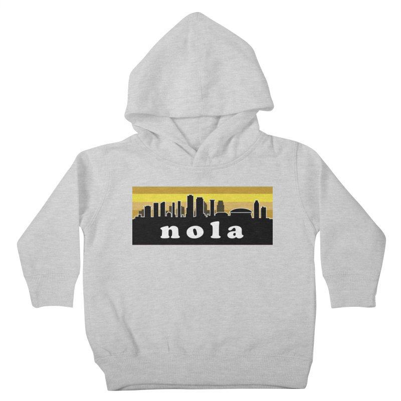 NoLa Kids Toddler Pullover Hoody by Mike Hampton's T-Shirt Shop