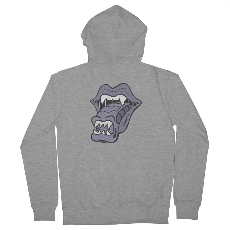 In Space, No One Can Hear You Play The Stones Men's French Terry Zip-Up Hoody by Mike Hampton's T-Shirt Shop