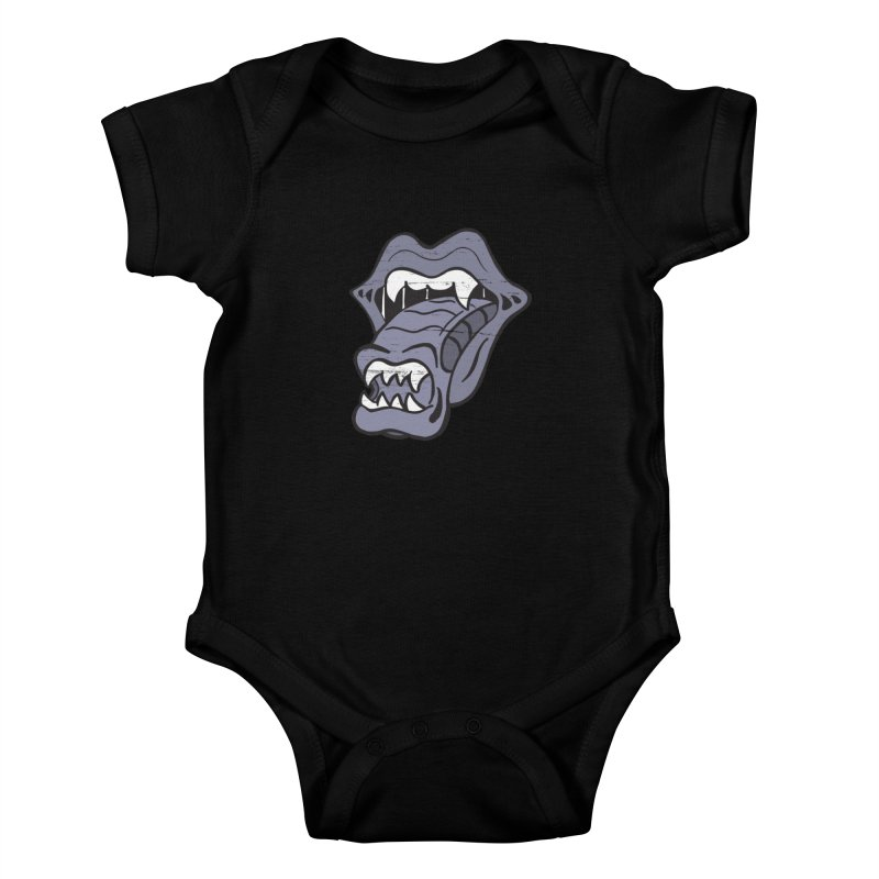 In Space, No One Can Hear You Play The Stones Kids Baby Bodysuit by Mike Hampton's T-Shirt Shop