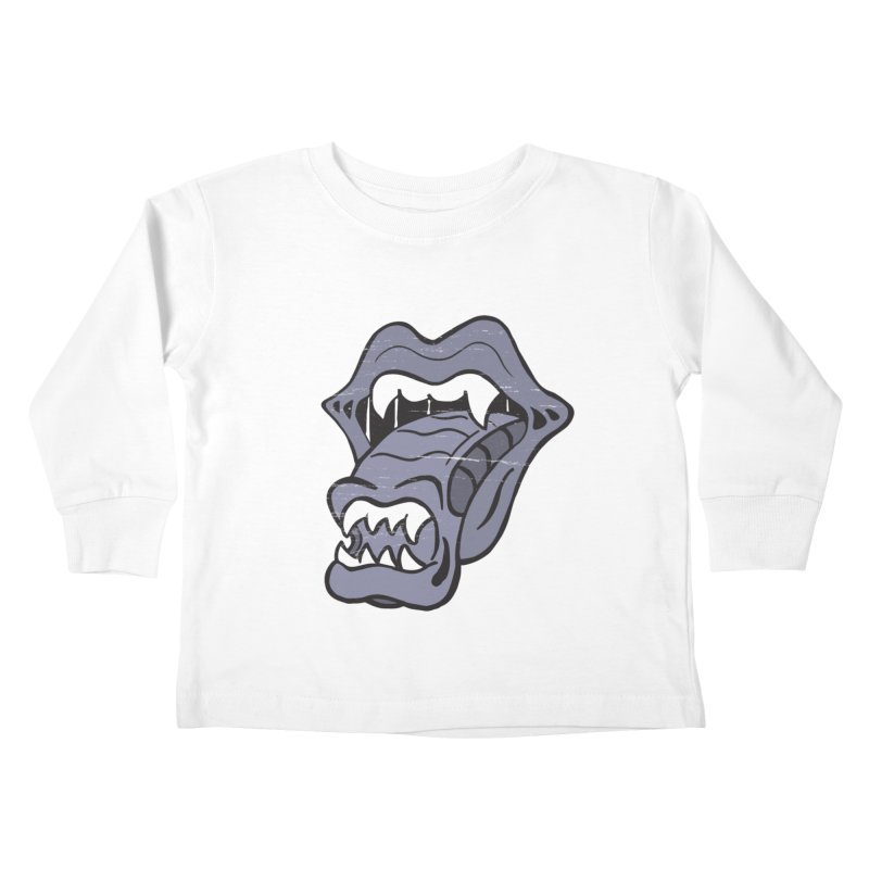 In Space, No One Can Hear You Play The Stones Kids Toddler Longsleeve T-Shirt by Mike Hampton's T-Shirt Shop