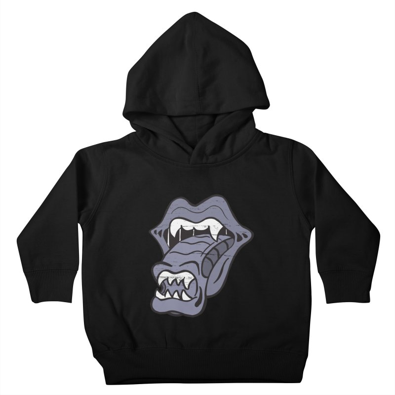 In Space, No One Can Hear You Play The Stones Kids Toddler Pullover Hoody by Mike Hampton's T-Shirt Shop