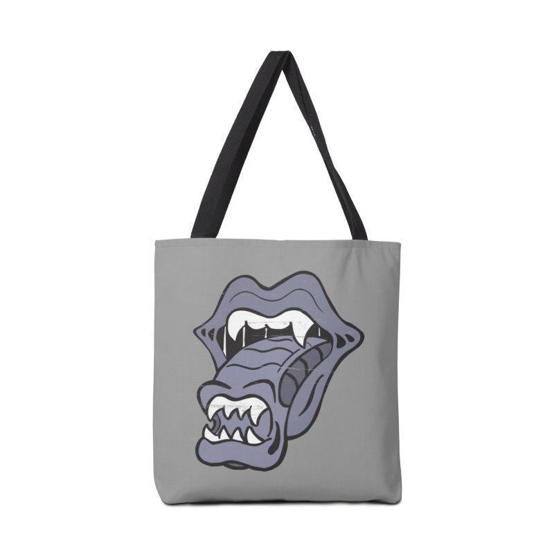 In Space, No One Can Hear You Play The Stones Accessories Bag by Mike Hampton's T-Shirt Shop