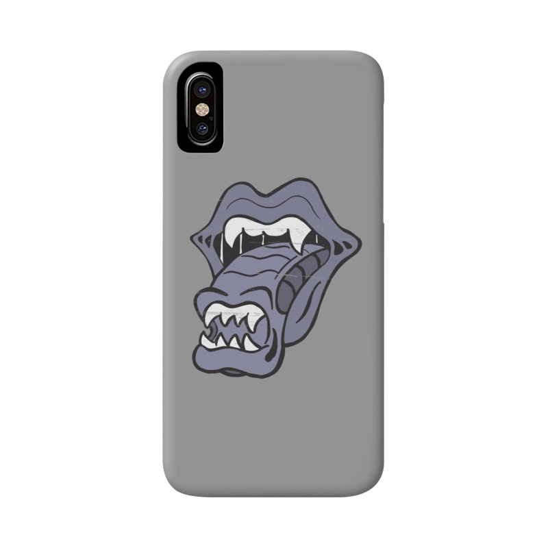 In Space, No One Can Hear You Play The Stones Accessories Phone Case by Mike Hampton's T-Shirt Shop