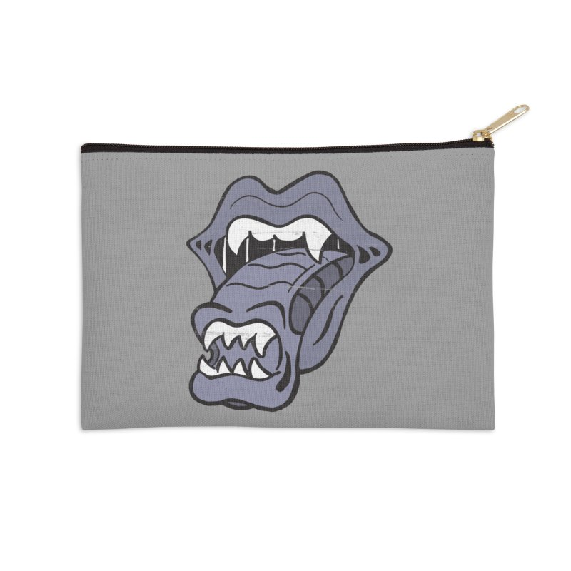 In Space, No One Can Hear You Play The Stones Accessories Zip Pouch by Mike Hampton's T-Shirt Shop