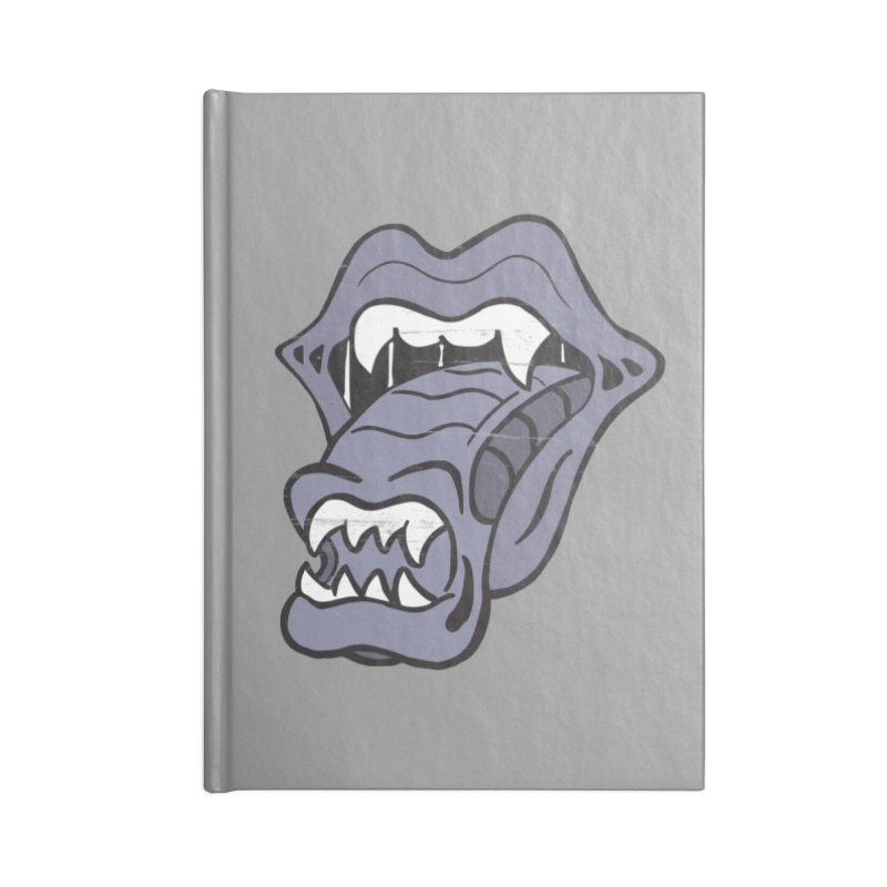 In Space, No One Can Hear You Play The Stones Accessories Notebook by Mike Hampton's T-Shirt Shop