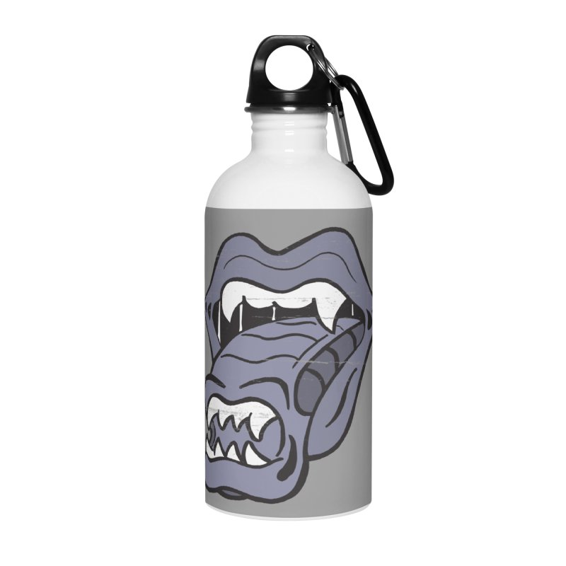 In Space, No One Can Hear You Play The Stones Accessories Water Bottle by Mike Hampton's T-Shirt Shop