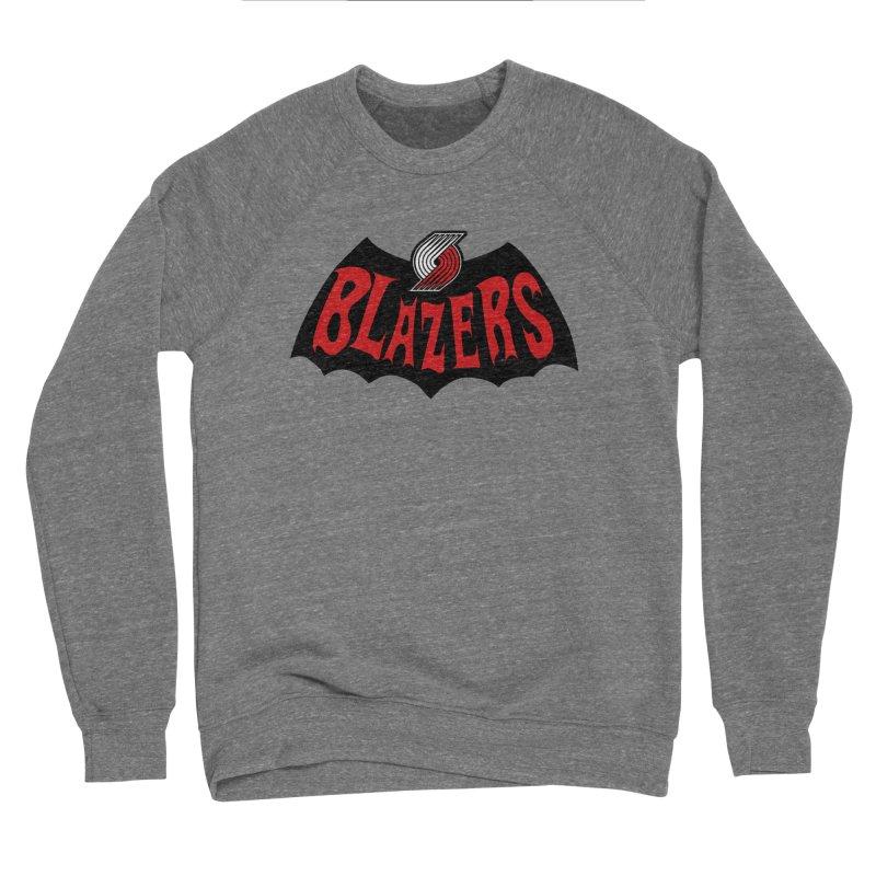 Rip City is the new Gotham City Women's Sponge Fleece Sweatshirt by Mike Hampton's T-Shirt Shop