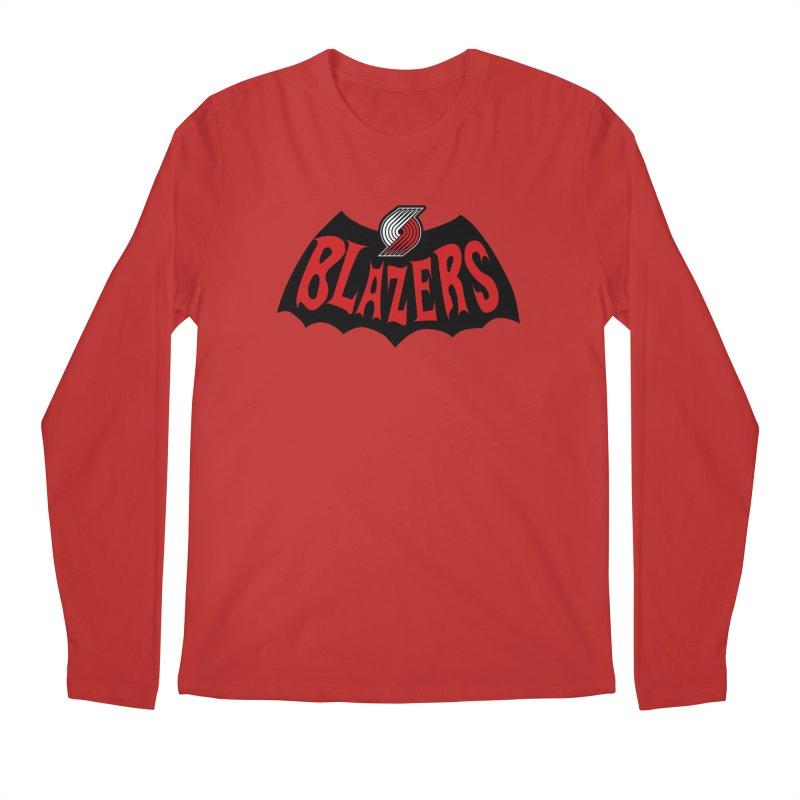 Rip City is the new Gotham City Men's Regular Longsleeve T-Shirt by Mike Hampton's T-Shirt Shop