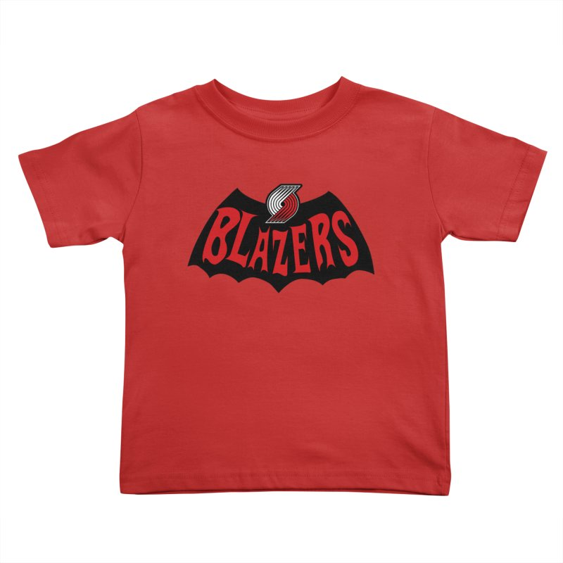 Rip City is the new Gotham City Kids Toddler T-Shirt by Mike Hampton's T-Shirt Shop