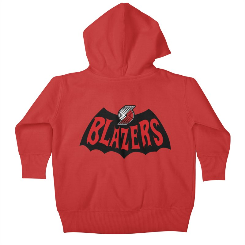 Rip City is the new Gotham City Kids Baby Zip-Up Hoody by Mike Hampton's T-Shirt Shop
