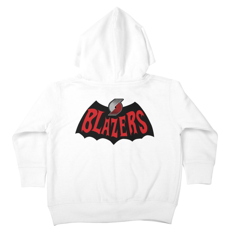 Rip City is the new Gotham City Kids Toddler Zip-Up Hoody by Mike Hampton's T-Shirt Shop