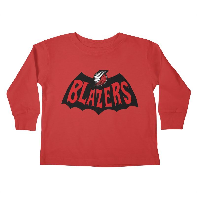 Rip City is the new Gotham City Kids Toddler Longsleeve T-Shirt by Mike Hampton's T-Shirt Shop