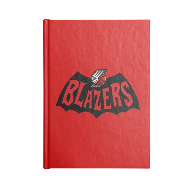 Rip City is the new Gotham City Accessories Notebook by Mike Hampton's T-Shirt Shop