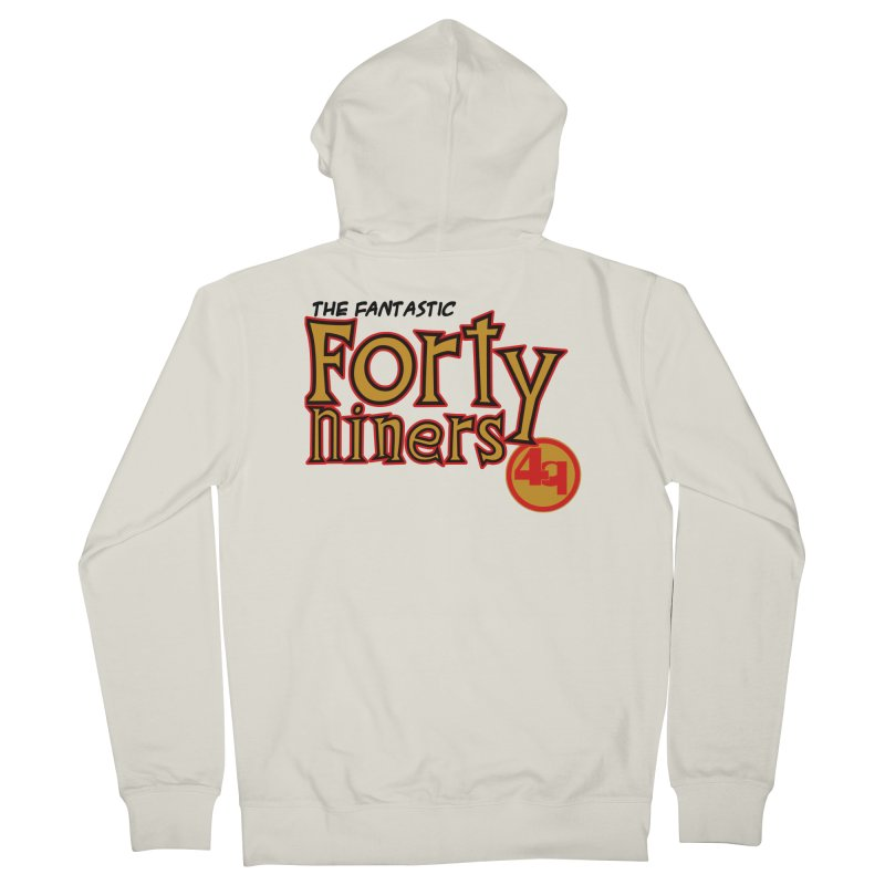 The World's Greatest Football Team! Men's French Terry Zip-Up Hoody by Mike Hampton's T-Shirt Shop