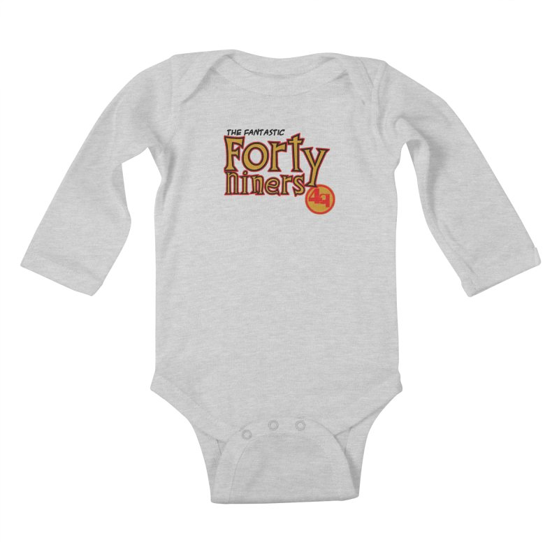 The World's Greatest Football Team! Kids Baby Longsleeve Bodysuit by Mike Hampton's T-Shirt Shop