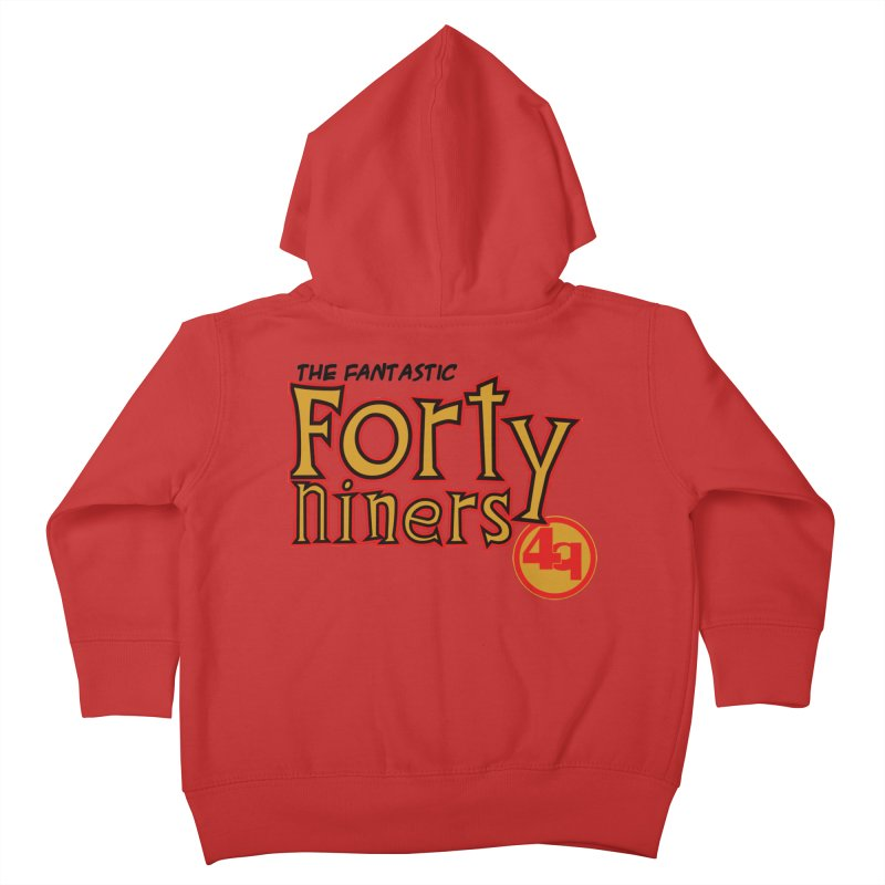 The World's Greatest Football Team! Kids Toddler Zip-Up Hoody by Mike Hampton's T-Shirt Shop