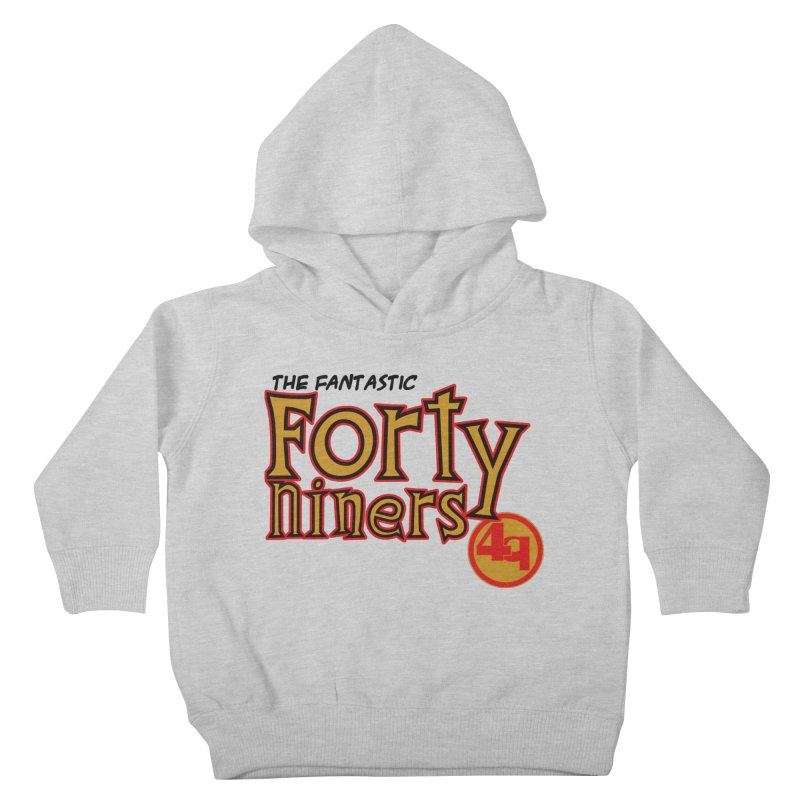 The World's Greatest Football Team! Kids Toddler Pullover Hoody by Mike Hampton's T-Shirt Shop