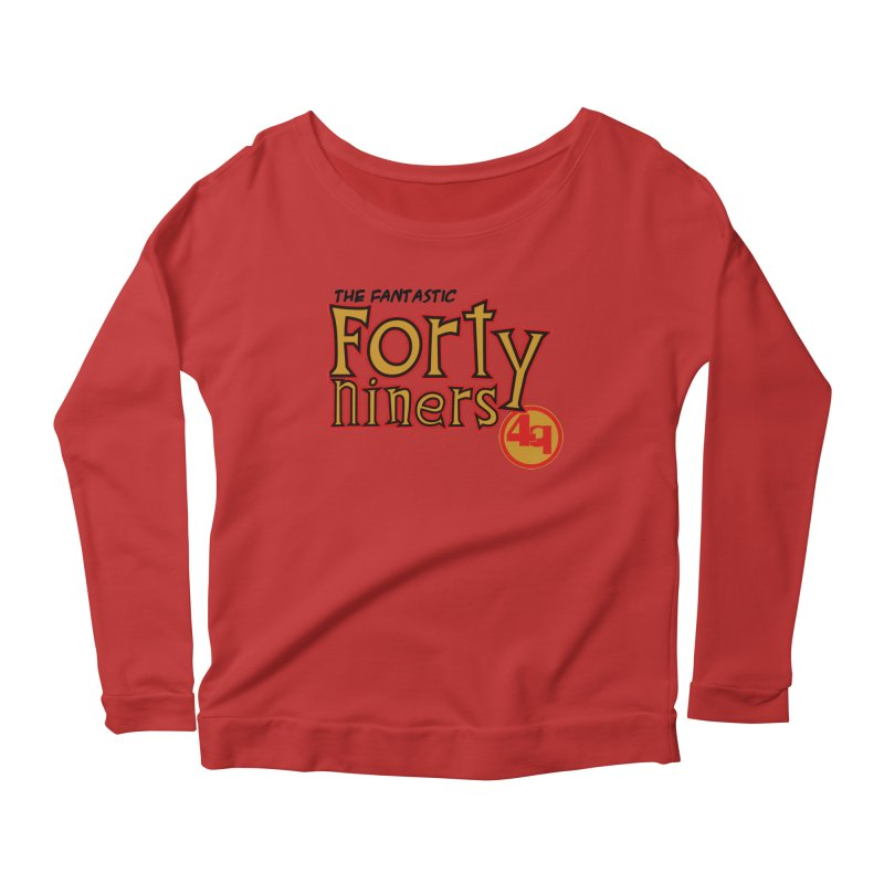 The World's Greatest Football Team! Women's Scoop Neck Longsleeve T-Shirt by Mike Hampton's T-Shirt Shop