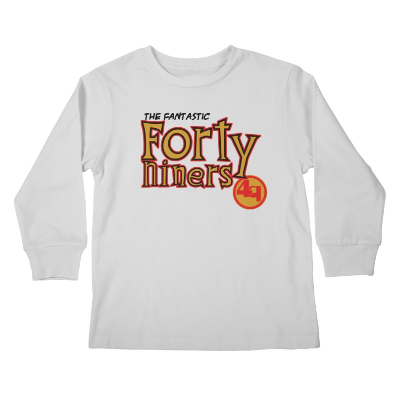 The World's Greatest Football Team! Kids Longsleeve T-Shirt by Mike Hampton's T-Shirt Shop