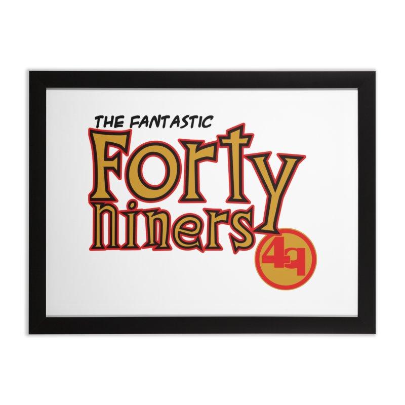The World's Greatest Football Team! Home Framed Fine Art Print by Mike Hampton's T-Shirt Shop