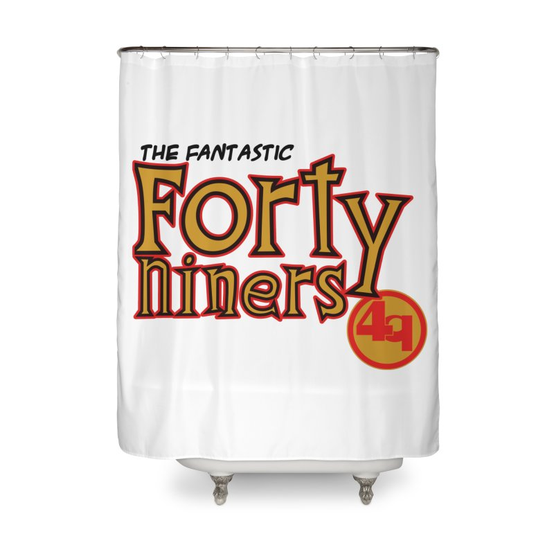 The World's Greatest Football Team! Home Shower Curtain by Mike Hampton's T-Shirt Shop