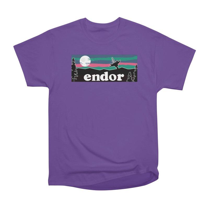 That's No Moon Women's Heavyweight Unisex T-Shirt by Mike Hampton's T-Shirt Shop