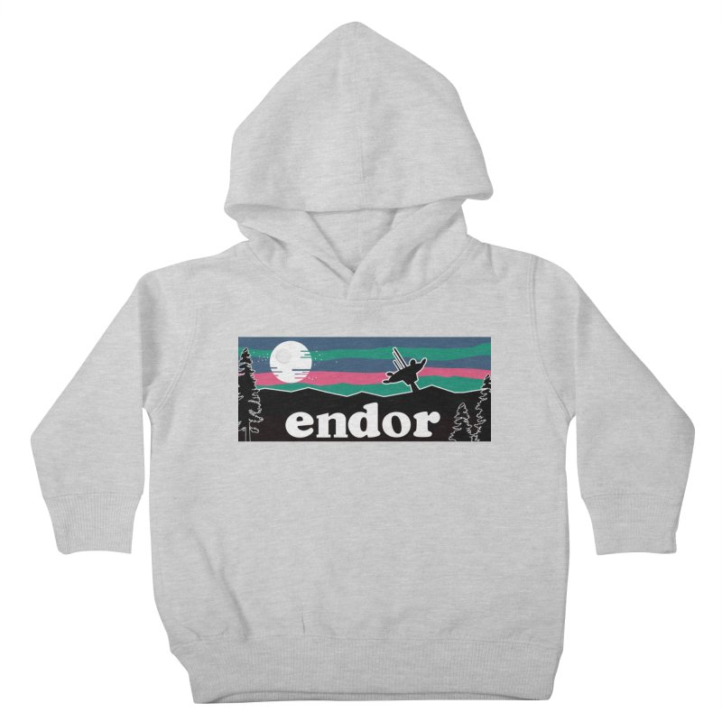That's No Moon Kids Toddler Pullover Hoody by Mike Hampton's T-Shirt Shop