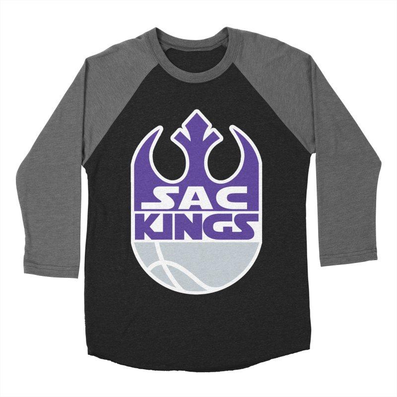 Capital City Rebels Men's Baseball Triblend Longsleeve T-Shirt by Mike Hampton's T-Shirt Shop