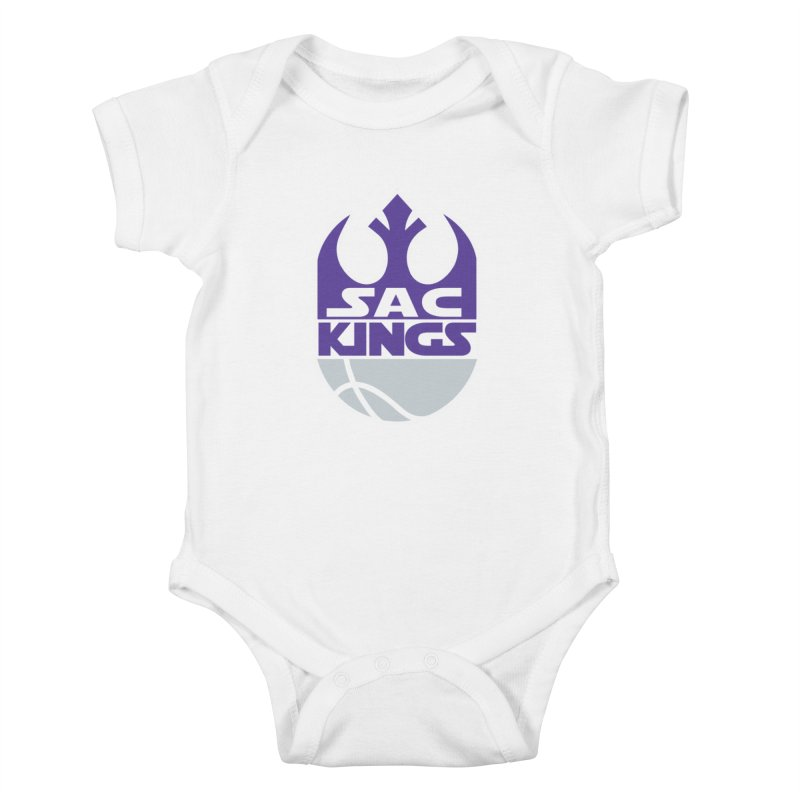 Capital City Rebels Kids Baby Bodysuit by Mike Hampton's T-Shirt Shop