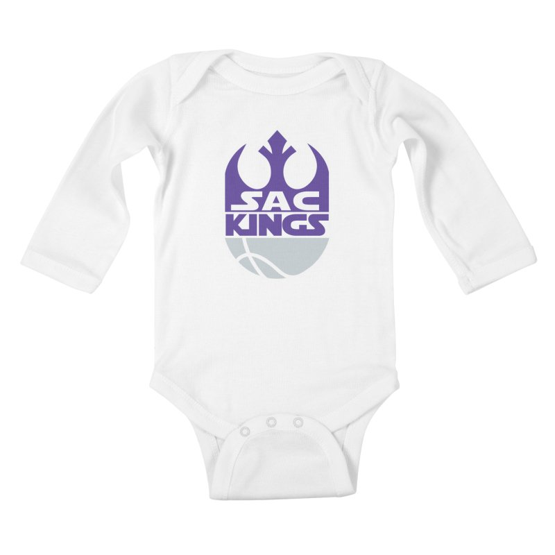 Capital City Rebels Kids Baby Longsleeve Bodysuit by Mike Hampton's T-Shirt Shop