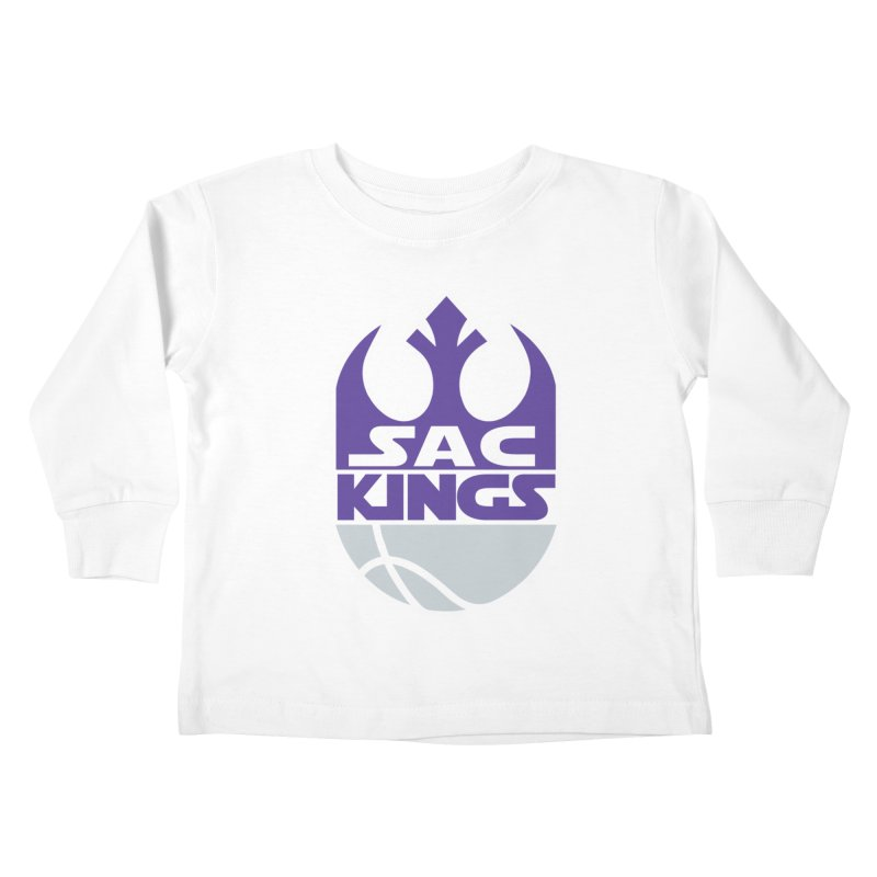 Capital City Rebels Kids Toddler Longsleeve T-Shirt by Mike Hampton's T-Shirt Shop