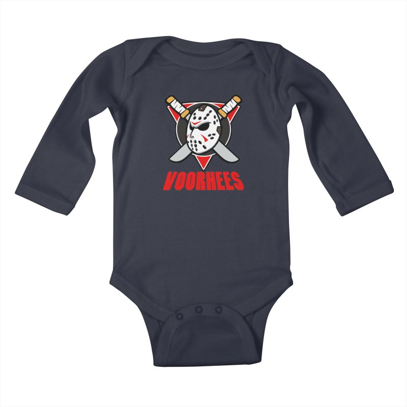 The Mighty Machete Kids Baby Longsleeve Bodysuit by Mike Hampton's T-Shirt Shop