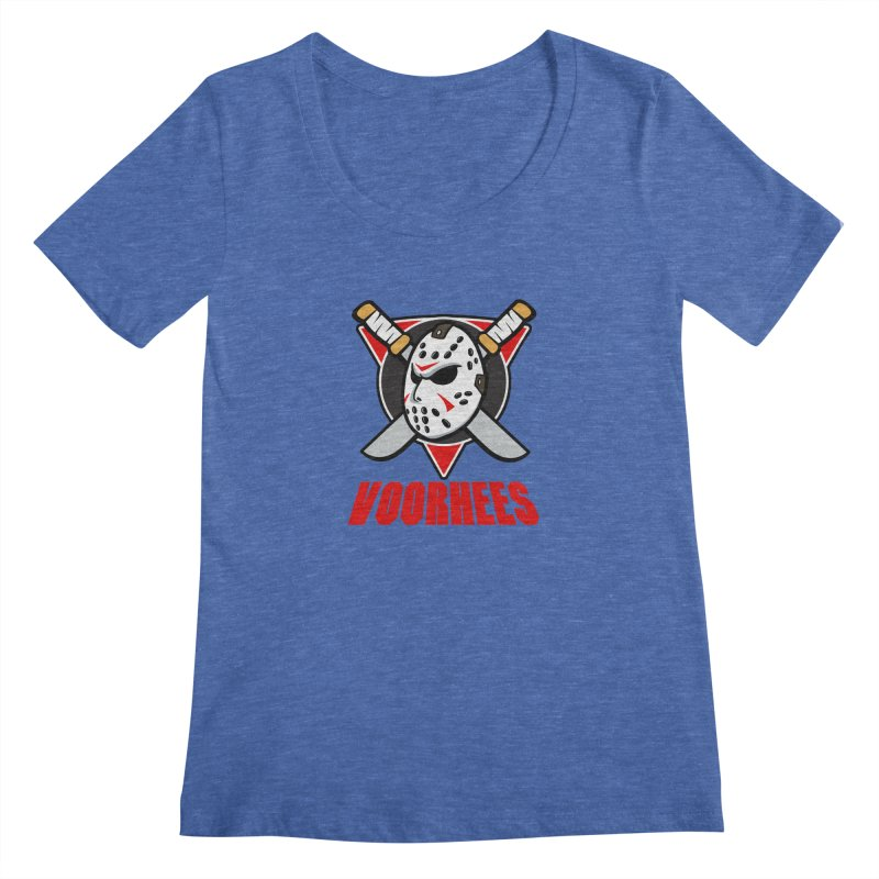 The Mighty Machete Women's Regular Scoop Neck by Mike Hampton's T-Shirt Shop