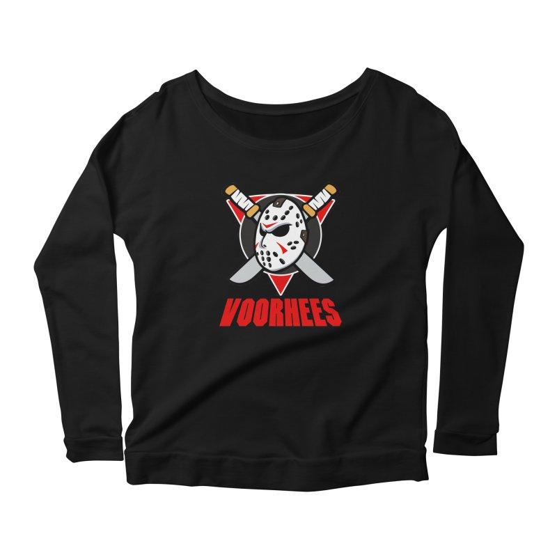 The Mighty Machete Women's Scoop Neck Longsleeve T-Shirt by Mike Hampton's T-Shirt Shop