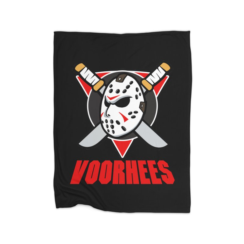 The Mighty Machete Home Blanket by Mike Hampton's T-Shirt Shop
