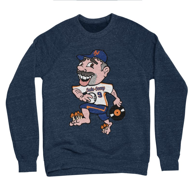 Baba-Booey! Men's Sponge Fleece Sweatshirt by Mike Hampton's T-Shirt Shop