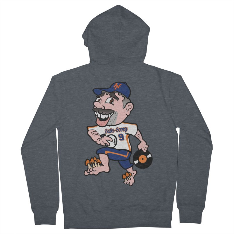 Baba-Booey! Men's French Terry Zip-Up Hoody by Mike Hampton's T-Shirt Shop
