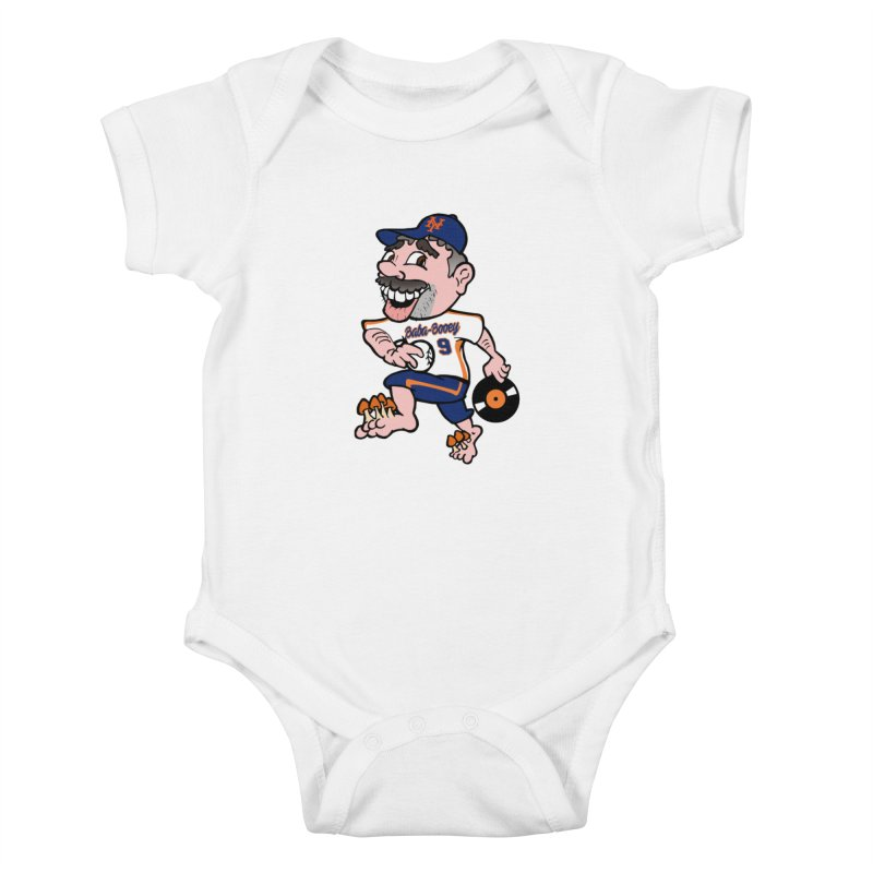 Baba-Booey! Kids Baby Bodysuit by Mike Hampton's T-Shirt Shop
