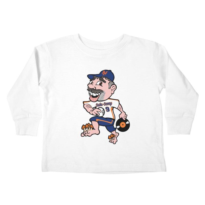 Baba-Booey! Kids Toddler Longsleeve T-Shirt by Mike Hampton's T-Shirt Shop