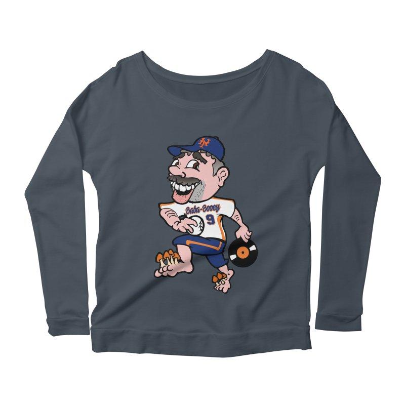 Baba-Booey! Women's Scoop Neck Longsleeve T-Shirt by Mike Hampton's T-Shirt Shop