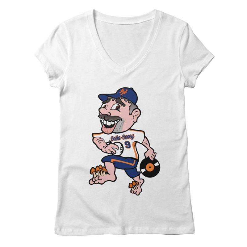 Baba-Booey! Women's Regular V-Neck by Mike Hampton's T-Shirt Shop