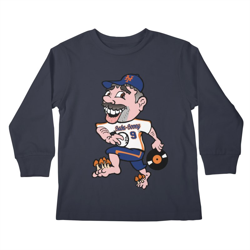 Baba-Booey! Kids Longsleeve T-Shirt by Mike Hampton's T-Shirt Shop