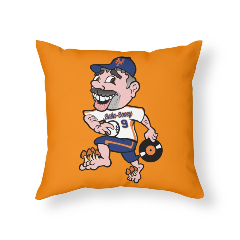 Baba-Booey! Home Throw Pillow by Mike Hampton's T-Shirt Shop