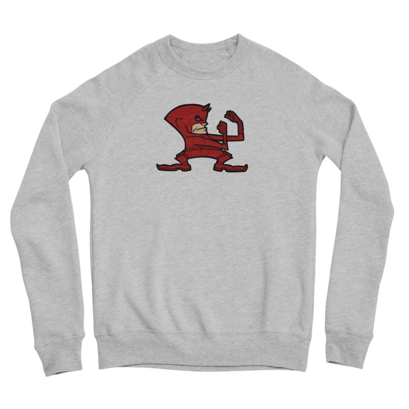 The Blind Fighting Irish Men's Sponge Fleece Sweatshirt by Mike Hampton's T-Shirt Shop