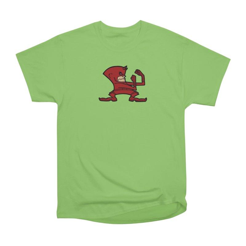 The Blind Fighting Irish Women's Heavyweight Unisex T-Shirt by Mike Hampton's T-Shirt Shop